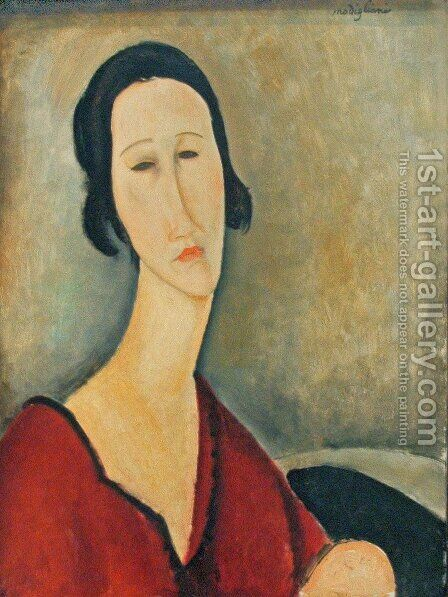 Madame Z by Amedeo Modigliani - Reproduction Oil Painting