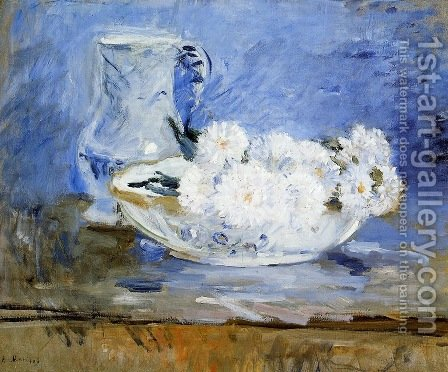 Daisies by Berthe Morisot - Reproduction Oil Painting