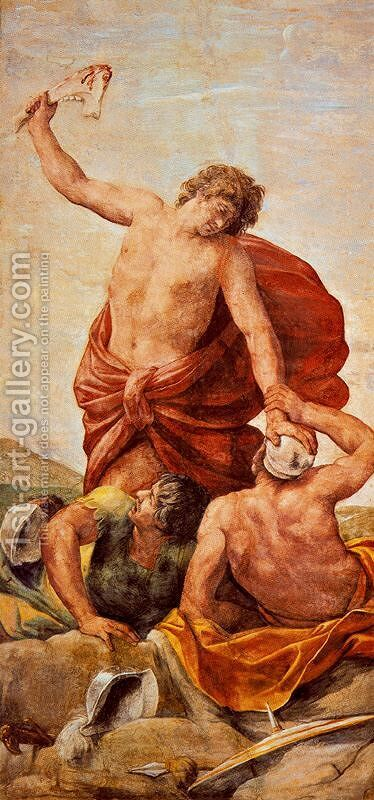 Scenes from the Life of Samson by Guido Reni - Reproduction Oil Painting