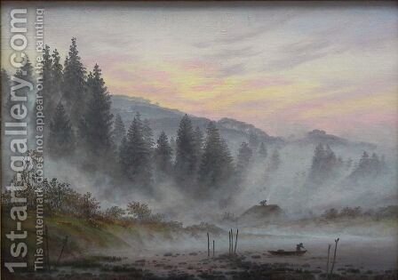 Morning by Caspar David Friedrich - Reproduction Oil Painting