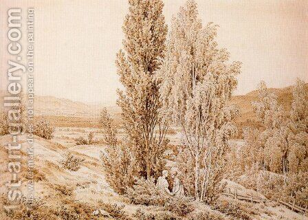 Summer by Caspar David Friedrich - Reproduction Oil Painting