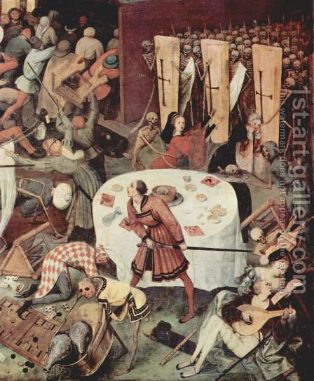 The Triumph of Death (detail 3) by Pieter the Elder Bruegel - Reproduction Oil Painting