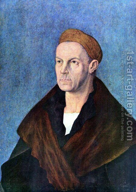 Portrait of Jakob Fugger 'the Rich' by Albrecht Durer - Reproduction Oil Painting
