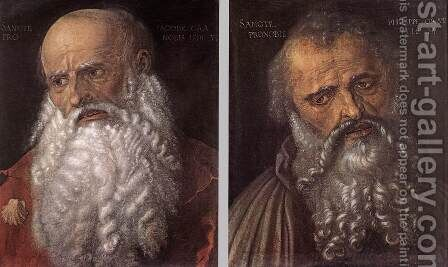 The Apostles Philip and James by Albrecht Durer - Reproduction Oil Painting