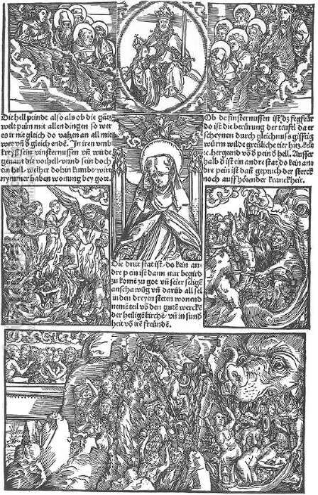 Illustration to Revelationes Sancte Birgitte 1 by Albrecht Durer - Reproduction Oil Painting