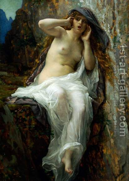 Echo by Alexandre Cabanel - Reproduction Oil Painting