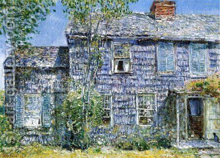 East Hampton, L.I by Childe Hassam - Reproduction Oil Painting