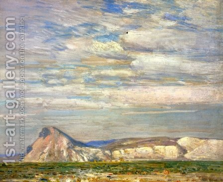 Harney Desert (No. 20) by Childe Hassam - Reproduction Oil Painting