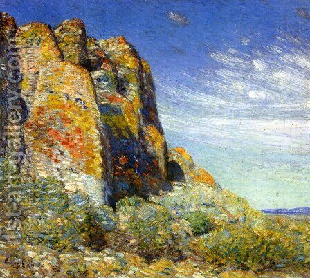 Harney Desert 2 by Childe Hassam - Reproduction Oil Painting
