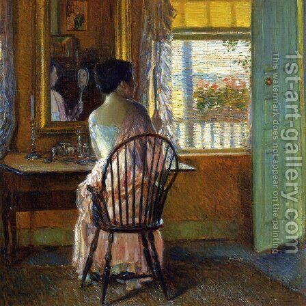 Morning Light by Childe Hassam - Reproduction Oil Painting