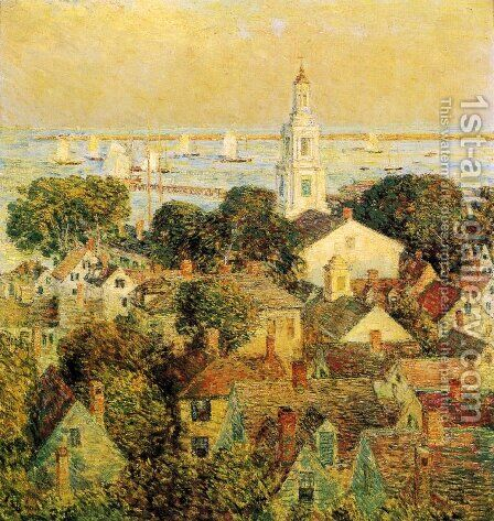 Provincetown by Childe Hassam - Reproduction Oil Painting