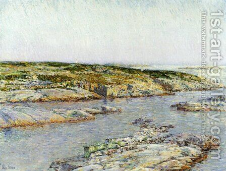 Summer Afternoon, Isles of Shoals by Childe Hassam - Reproduction Oil Painting