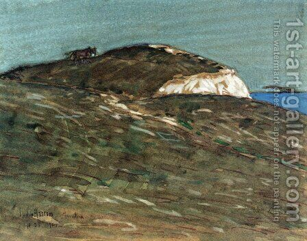 The Hourse of Actaeon, Montauk by Childe Hassam - Reproduction Oil Painting