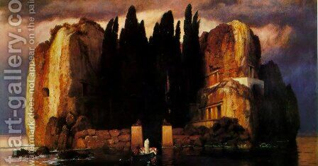 Island of the Dead 2 by Arnold Böcklin - Reproduction Oil Painting