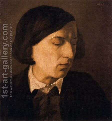 Portrait of Alexander Michelis by Arnold Böcklin - Reproduction Oil Painting