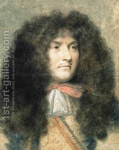 Louis XIV by Charles Le Brun - Reproduction Oil Painting