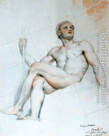 Mart by Anton Raphael Mengs - Reproduction Oil Painting