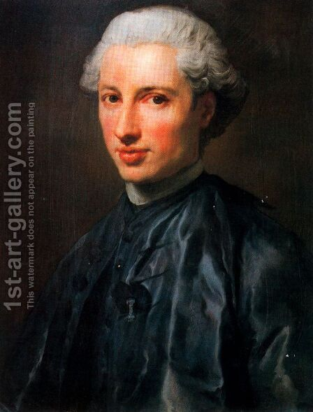 Monsignor Onorato Maria Caetani by Anton Raphael Mengs - Reproduction Oil Painting