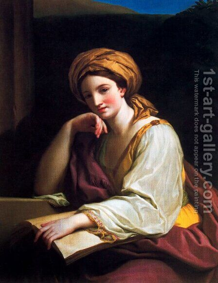 Sibyl by Anton Raphael Mengs - Reproduction Oil Painting