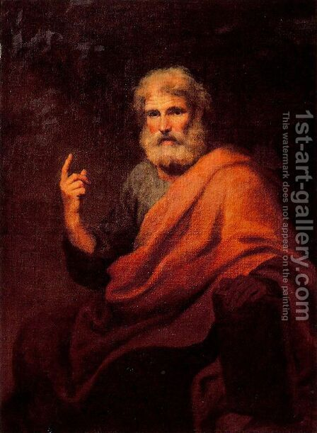St. Peter preaching by Anton Raphael Mengs - Reproduction Oil Painting