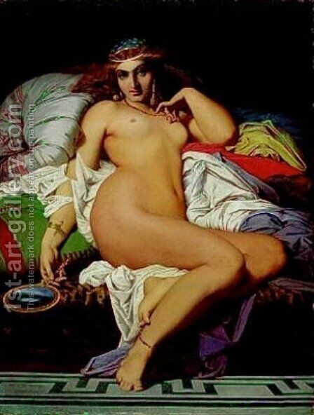 Phryne 2 by Gustave Clarence Rodolphe Boulanger - Reproduction Oil Painting