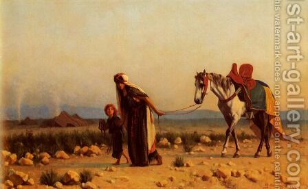 The Return by Gustave Clarence Rodolphe Boulanger - Reproduction Oil Painting