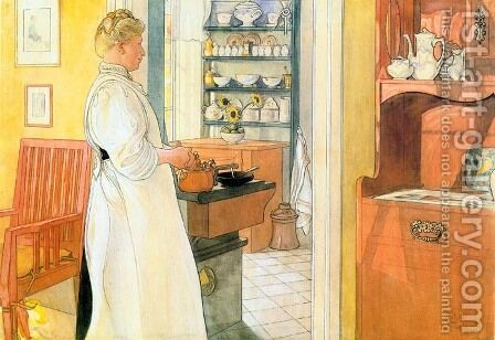 Anna-Arnbom by Carl Larsson - Reproduction Oil Painting