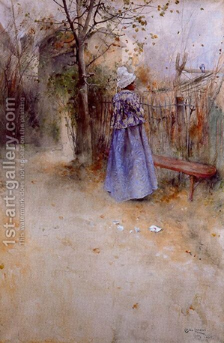 Autumn by Carl Larsson - Reproduction Oil Painting