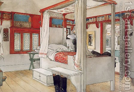 My room by Carl Larsson - Reproduction Oil Painting