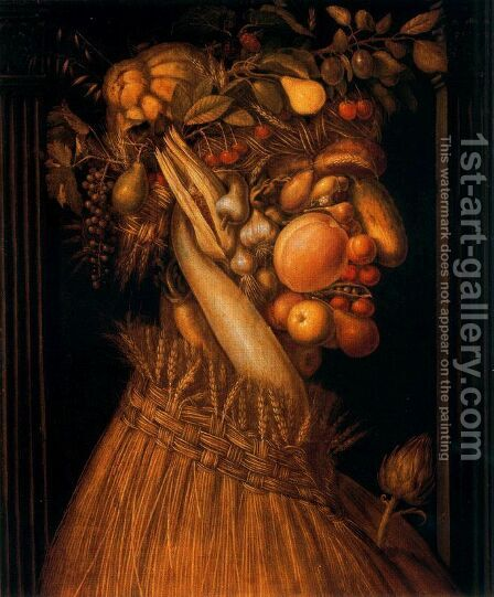 The Summer by Giuseppe Arcimboldo - Reproduction Oil Painting