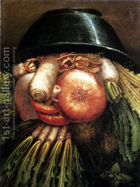 Vegetables by Giuseppe Arcimboldo - Reproduction Oil Painting