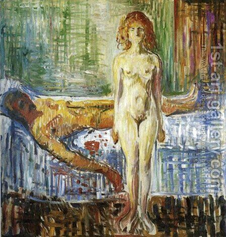 Death of Marat II by Edvard Munch - Reproduction Oil Painting