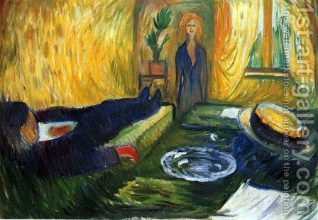 The Murderess 2 by Edvard Munch - Reproduction Oil Painting