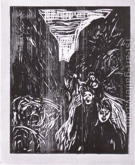 l'allée 1910 by Edvard Munch - Reproduction Oil Painting