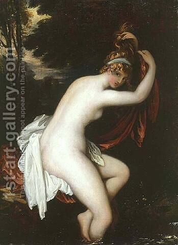 Arethusa by Benjamin West - Reproduction Oil Painting
