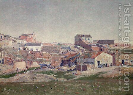 Paisaje 2 by Aureliano de Beruete y Moret - Reproduction Oil Painting