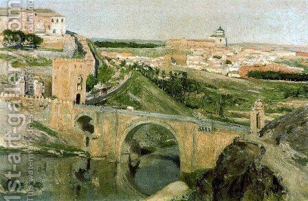 Toledo 3 by Aureliano de Beruete y Moret - Reproduction Oil Painting