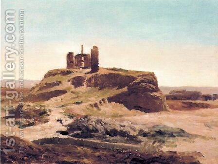 Noria abandonada by Carlos de Haes - Reproduction Oil Painting