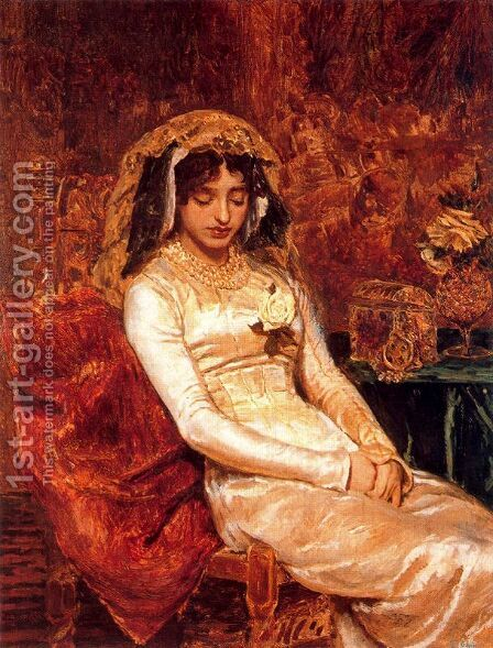 Antes de la boda by Antonio Munoz Degrain - Reproduction Oil Painting