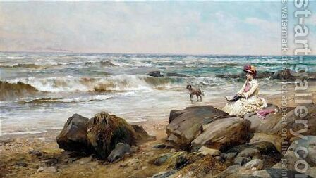 Faraway thoughts by Alfred Glendening - Reproduction Oil Painting