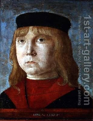 Portrait of a Boy by Girolamo Mocetto - Reproduction Oil Painting