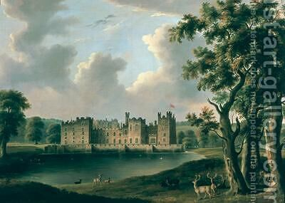 Raby Castle by James Miller - Reproduction Oil Painting