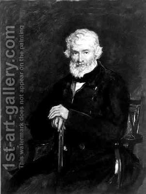 Thomas Carlyle 1795-1881 by (after) Millais, Sir John Everett - Reproduction Oil Painting