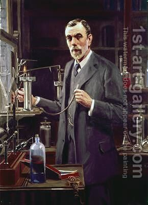 Sir William Ramsay 1852-1916 by Mark Richard Milbanke - Reproduction Oil Painting