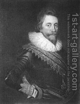 Henry Wriothesley 3rd Earl of Southampton from The Works of Shakespeare Sonnets by (after) Mierevelt, Michiel Jansz. van - Reproduction Oil Painting