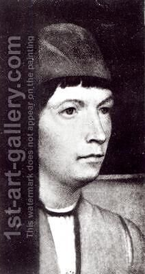 Self Portrait by (after) Memling, Hans - Reproduction Oil Painting