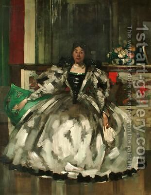 Mrs Graham Robertson 1900 by Arthur Melville - Reproduction Oil Painting
