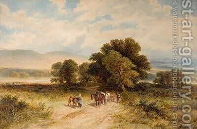 Going Home 1875 by James Edwin Meadows - Reproduction Oil Painting