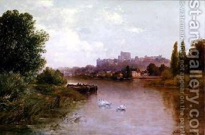 Windsor 1904 by Gordon Arthur Meadows - Reproduction Oil Painting
