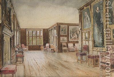 The Leicester Gallery Knole House by David Hall McKewan - Reproduction Oil Painting